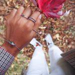 Prsten Rope Anchor Love Hirurški Čelik 54