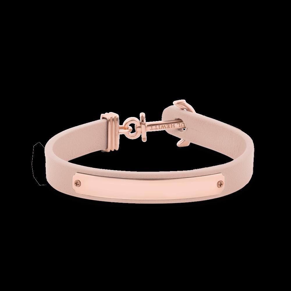 PH-FSC-R-N-BL-L Anchor Narukvica Signum Engraving Roze Zlatna Nude L